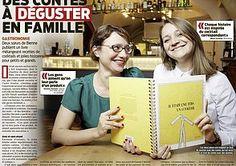 Article paru dans #LeMatin. Pour commander le #livre de #contes et de #recettes de #cocktails cliquez ici: