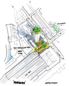 renzo piano building workshop paddington development mixed-use tower london designboom
