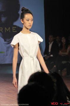 VCAD ONwards Fashion Show 2013 – Half Dutch White Long Dress by Evan Ducharme Watch VCAD ONwards fashion show official video: http://www.youtube.com/watch?v=KwA0pnkygt4 #VCAD #ONwards #Fashion #Show #2013 #Half #Dutch #White #Long #Dress #Evan #Ducharme