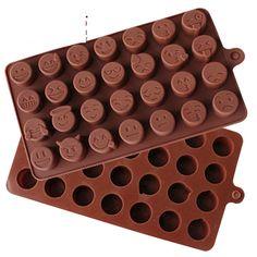 SinCook 28-cavità Qq espressione fai da te per torte, cioccolato, caramelle…