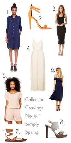 simply spring / easy spring looks / simple styling