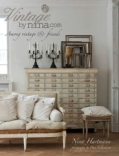 "Get the new Nina Hartmann book, ""Vintage by Nina: Among Vintage and Friends""!  Pre-order now with Edith & Evelyn Vintage on Etsy before they sell out!"