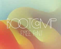 Hello everyone, Here we are again! This time to present a new fresh font that we hope you make awesome stuff with it! BootCamp is a very nice and classy font for posters and headlines, this font have two super cool styles that you can easily mix it between uppercase and lowercase. So mix and tryout
