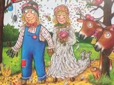 A video book of Julia Donaldson and Axel Scheffler's 'The Scarecrows' Wedding'. First published in the UK in 2014 by Alison Green Books. The Scarecrows Wedding, Book Week, 4 Kids, Harvest, Competition, Reception, Princess Zelda, Teaching, Videos