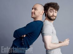 Comic-Con 2015 Star Portraits: Day 3 | James McAvoy and Daniel Radcliffe, 'Victor Frankenstein' | EW.com
