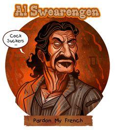 Al Swearengen by garvals, via deviantART   #sanfranciscococksucker