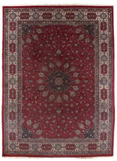 VAN-HAM Kunstauktionen Mashad.  2nd quarter of 20th C. 426 x 318cm.