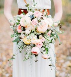 love by serena fall bouquet