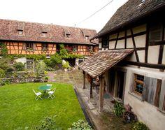 La maison Alsacienne extérieur 2 - La maison préférée des Français 2013 ©France2