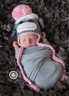 cb51fec0d95 Items similar to Baby Girl Hat