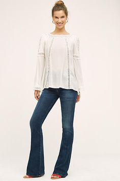 Delwen Open-Shoulder Top - anthropologie.com