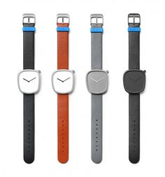 Pebble is the result of a collaboration between Jacob Juul of newly established Danish watch brand Bulbul and KiBiSi.