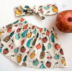 Детская юбка и повязка, р. 86, 700 Р