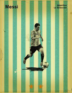 Messi, Argentina #soccer