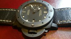 Luminor panerai submersible ceramica