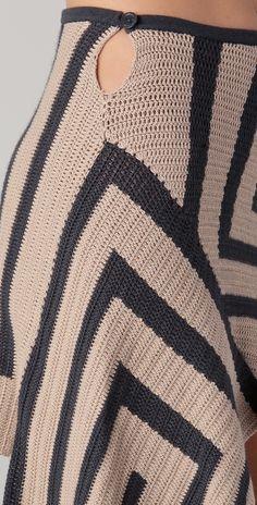crochet skirt - pic 3 - JEN KAO - коллекция весна-лето 2012. . Обсуждение на LiveInternet - Российский Сервис Онлайн-Дневников