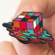 "1"" hard enamel pin. Designed by Hwang Boi 1991. Comes individually packaged with deluxe clasp."