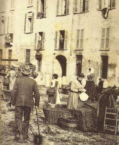 MILANO Sparita - Corso Porta Vittoria. Mercato - 1905