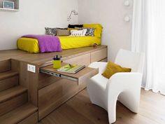 Μικροί, όμορφοι χώροι Για φοιτητικό ή εργένικο σπίτι.