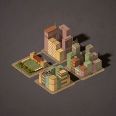 Low Poly Blocks