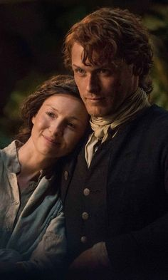 "The proud ""parents"" of both the groom AND bride. Only in Outlander would that make sense!"