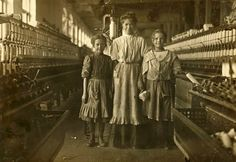 """The """"good old days"""" when children worked long hours?"""