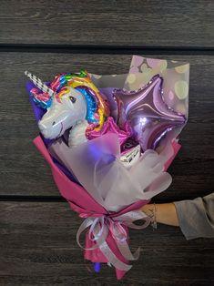 Balloons And More, Mini Balloons, Birthday Balloons, Birthday Cake Gift, Birthday Diy, Balloon Shop, Balloon Gift, Gift Bouquet, Candy Bouquet