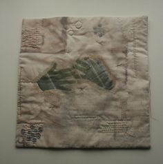 Amelia May's Quilt. Shire Hall Gallery commission, 2012.