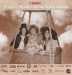 Nuestras compis de la editorial en la Gala de la V edición de los Premios Anuales de Marketing que organiza el Club de Marketing de Málaga