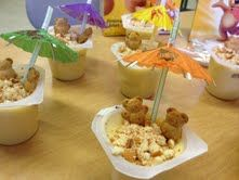 "Super cute ""beach"" snack!  All That Glitters In First Grade: Beach Day"