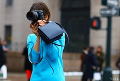 Hanneli Mustaparta, New York Fashion Week, Street Style Ny Fashion Week, New York Fashion, World Of Fashion, The Row Bag, Girls With Cameras, Street Style Blog, Street Chic, Street Styles, Princesa Diana