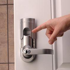 Thumbprint door lock