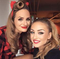 Zuzana Šebová & Lucid Style, MUAH Lucid Style Red Lips, Bellisima, Beautiful Women, Make Up, Fantasy, Lady, Hair Styles, Beauty, Blog