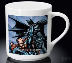 Fight Batman vs Superman New Hot Mug White Mug