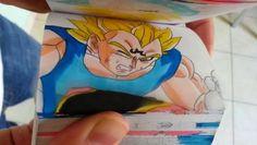 Dragon Ball Z Flipbook Episode 6 Kid Buu vs Majin Vegeta par Etoilec1