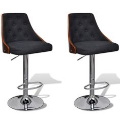 vidaXL Bar Stool Height Adjustable with Backrest 2 pcs Red Bar Stools, Bar Stool Chairs, O Gas, Chaise Bar, Bent Wood, Australia Living, Bar Furniture, Foot Rest, Simple Designs