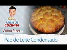 - Aprenda a preparar essa maravilhosa receita de PÃOZINHO DE LEITE CONDENSADO - MUITO FOFINHO