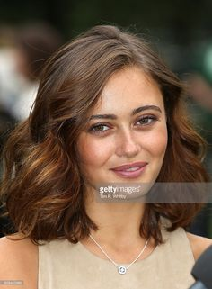 Actor Ella Purnell poses for a photo during a photocall for Tim Burton's 'Miss Peregrines Home For Peculiar Children' at Potters Field Park on September 21, 2016 in London, England.