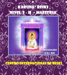 ► CURSO ONLINE DE KARUNA® REIKI - NIVEL I y II + MAESTRIA  Mas informacion en Found on Facebook (arriba)