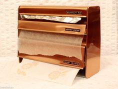 Copper kitchen dispenser