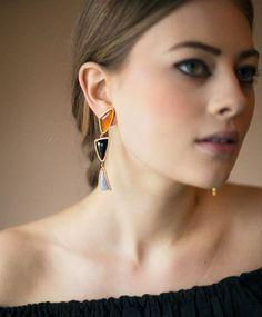 Lizzie Fortunato Prehistoric Earrings