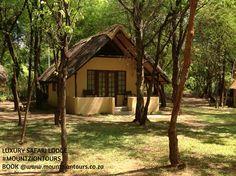 South Africa, Safari, Cabin, House Styles, Luxury, Book, Home Decor, Decoration Home, Room Decor