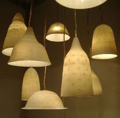 illumination by ceramics #design # home #lighting