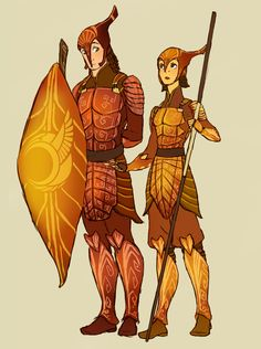 Leafmen autumn armor design by TheFandomWhore.deviantart.com on @deviantART