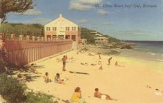 Elbow Beach hotel, back in the day