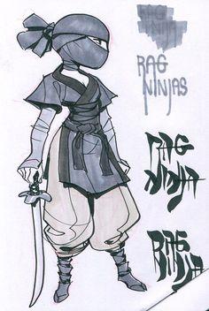 ArtStation - rag ninjas, Ben Hale