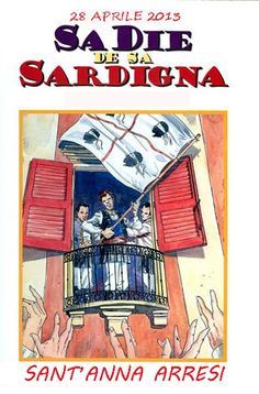 "http://www.kalariseventi.com/en/sa-die-de-sa-sardigna-santanna-arresi-domenica-28-aprile/  We are pleased to announce that Anne Folk Group organizes a day dedicated to celebrate the ""Festival of the Sardinian people"" called ""DIE SA DE SA SARDIGNA"" and commemorates the anniversary of the April 28, 1794, when the population of Cagliari in revolt to..."