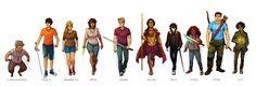 Resultado de imagen para heroes of olympus