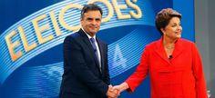 Aécio Neves usa denúncia da revista Veja contra Dilma em debate na TV Globo