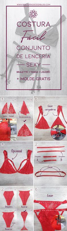Diy lace bralette. diy lingerie. Tutorial de costura. Costura fácil paso a paso. free sewing patttern. patrón de costura gratis. molde gratis. coser lencería.